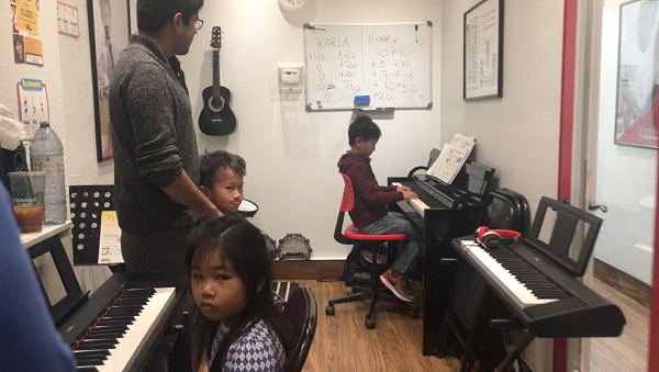 Piano group Class with piano teacher_opt