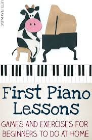 First Piano Lessons: Getting Started | Kids piano, Piano lessons ...